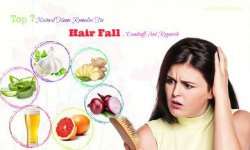 home remedies for hair fall and dandruff