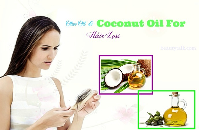 coconut oil for hair in women - olive oil & coconut oil for hair loss
