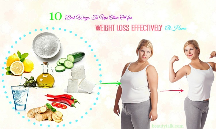 ways to use olive oil for weight loss