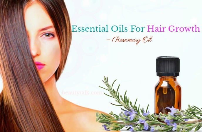essential oils for hair growth and thickness - rosemary oil