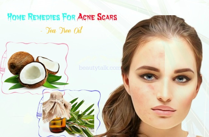 home remedies for acne scars on face - tea tree oil