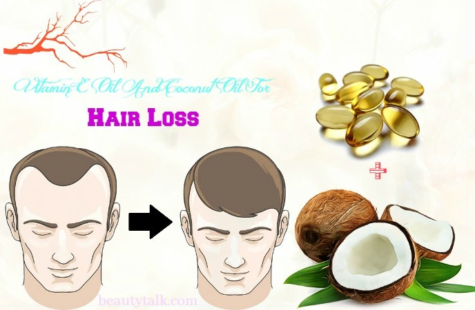 how to use coconut oil for hair - vitamin e oil and coconut oil for hair loss