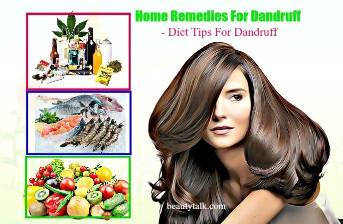 diet tips for dandruff