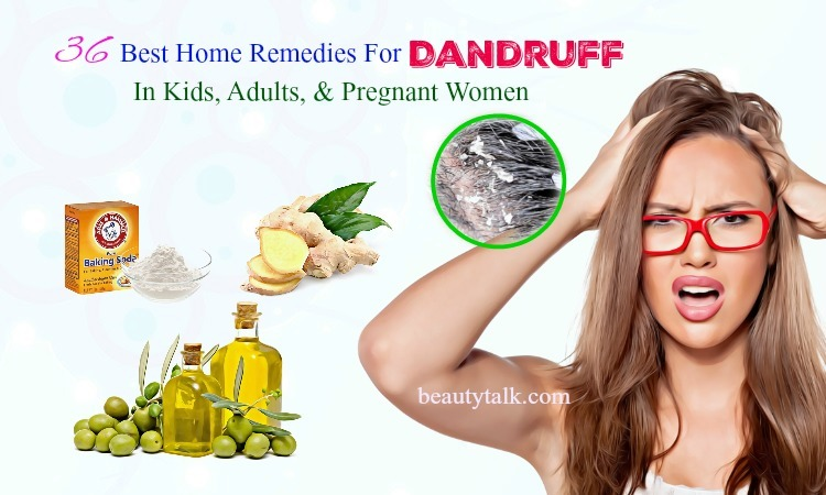 home remedies for dandruff in adults