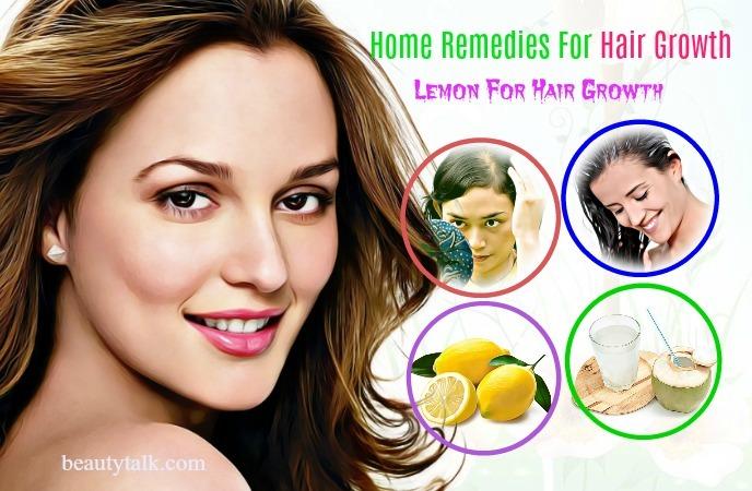 lemon for hair growth