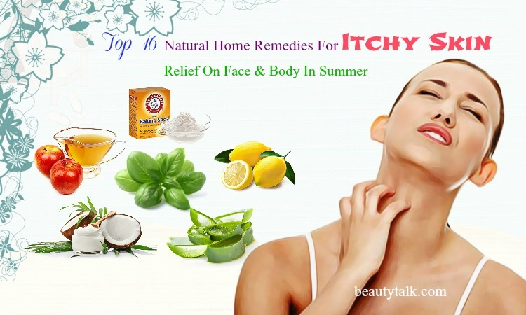 home remedies for itchy skin on face