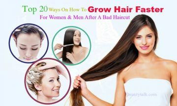 how to grow hair faster after a bad haircut
