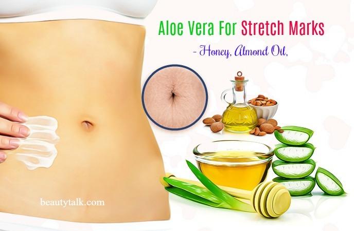 honey, almond oil, and aloe vera
