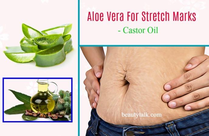 castor oil and aloe vera