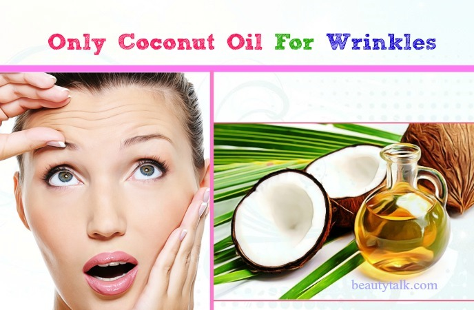 coconut oil only