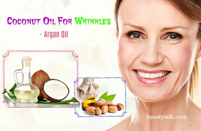 argan oil and coconut oil for wrinkles