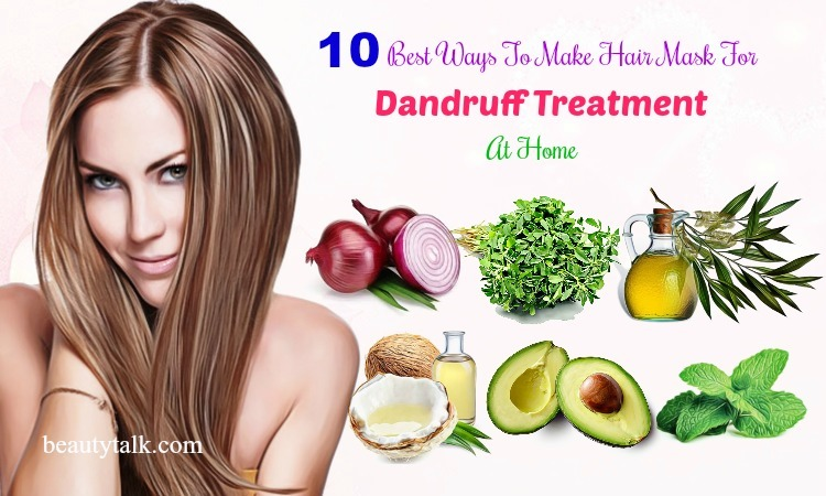 hair mask for dandruff at home