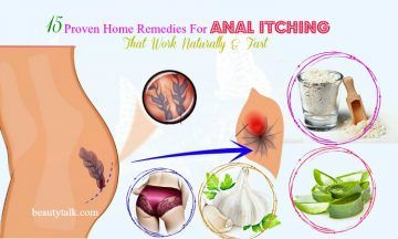 Anal itch home remedy