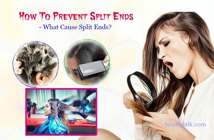 what cause split ends