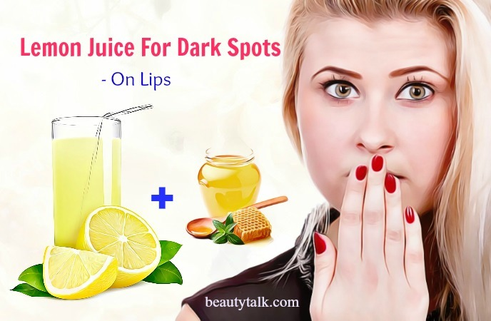 dark spots on lips