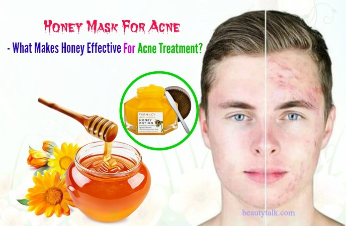 what makes honey effective for acne treatment