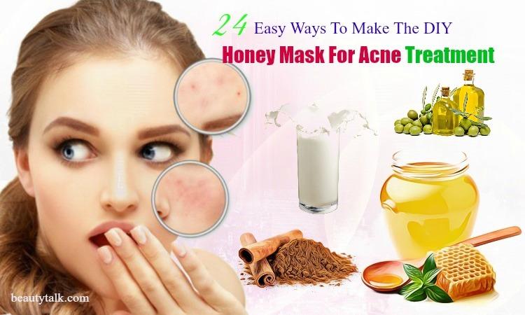 diy honey mask for acne