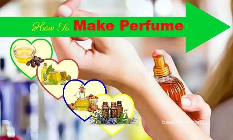 how to make perfume naturally