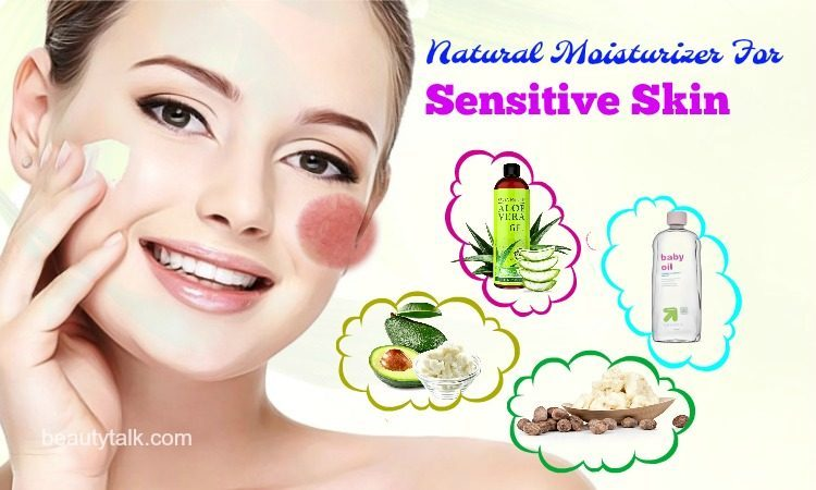 natural moisturizer for sensitive skin