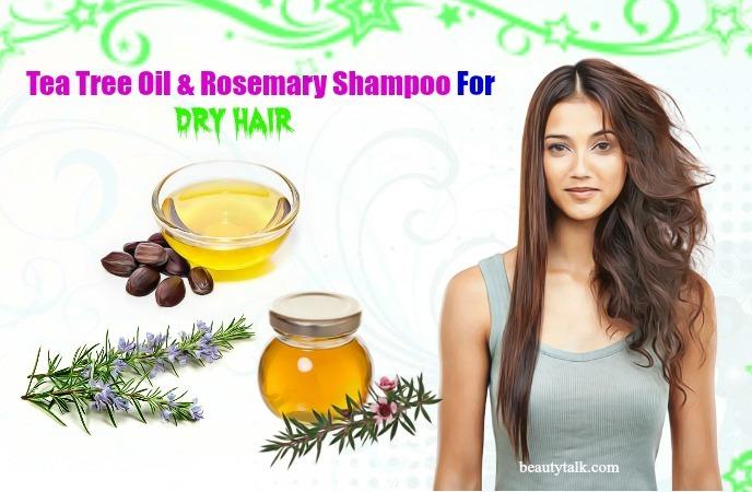 tea tree oil & rosemary