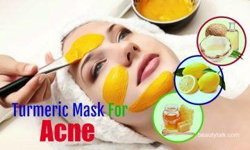 diy turmeric mask for acne