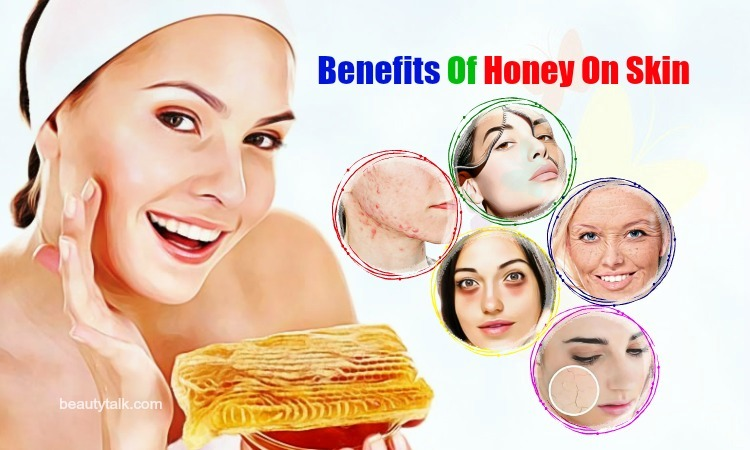 benefits of honey on skin wrinkles