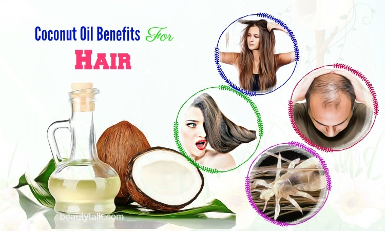 coconut oil benefits for hair issues