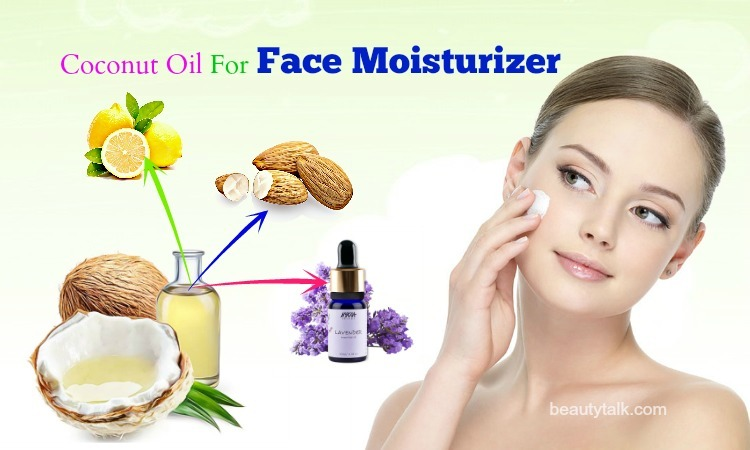 ways to use coconut oil for face moisturizer
