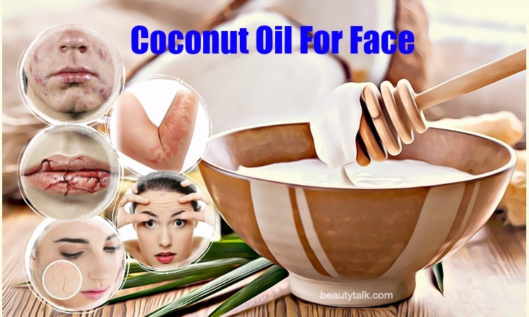 coconut oil for face issues