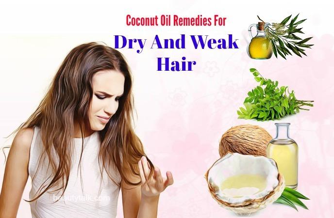 dry and weak hair