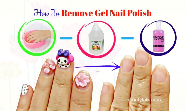 how to remove gel nail polish from nails