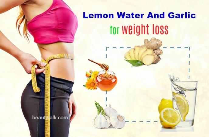 lemon water and garlic