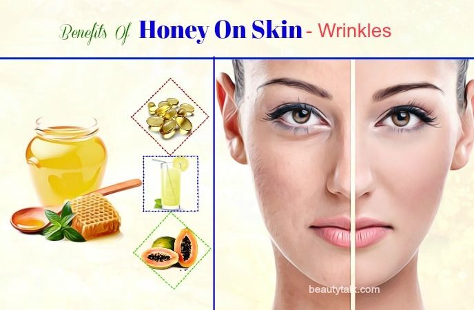 honey for wrinkles