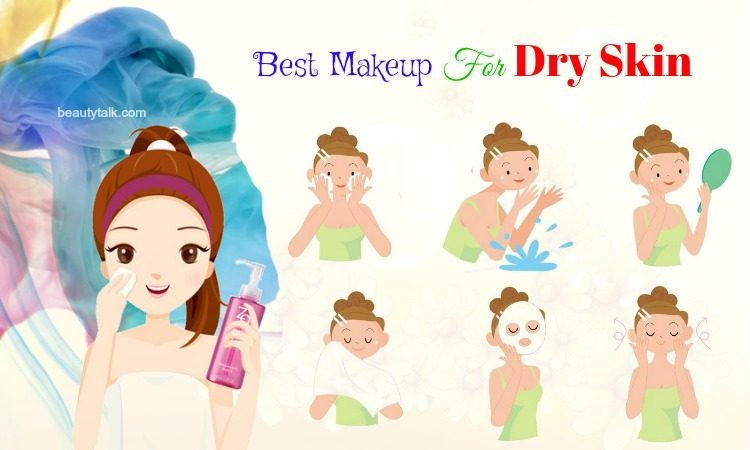 tips for best makeup for dry skin