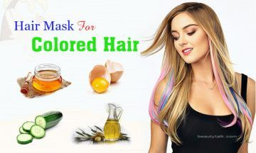 diy hair mask for colored hair