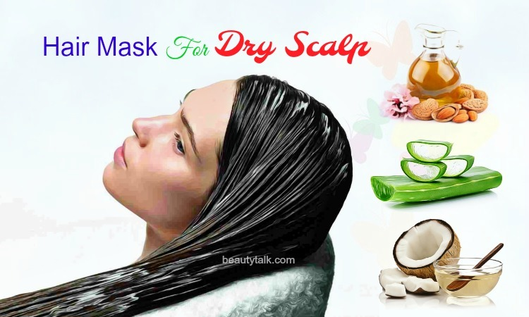 diy hair mask for dry scalp