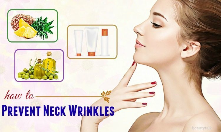 how to prevent neck wrinkles naturally