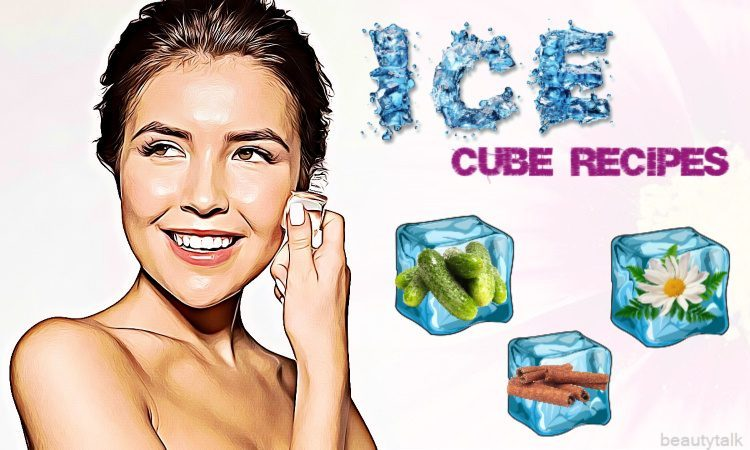 ice cube recipes to clean