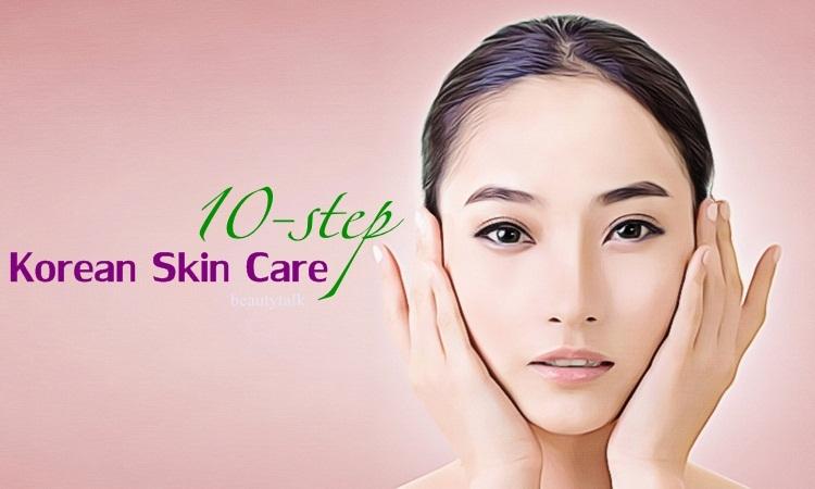 10-step Korean skin care at home