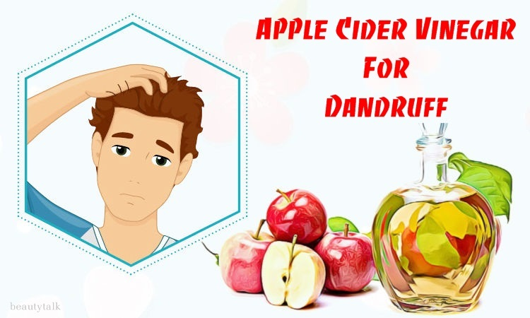 natural ways to use apple cider vinegar for dandruff