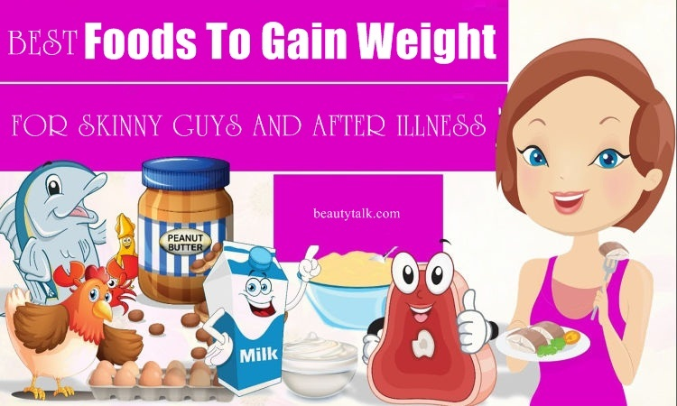 best foods to gain weight
