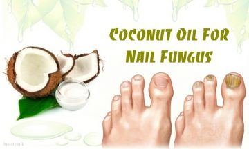 how to use coconut oil for nail fungus