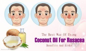 coconut oil for rosacea: benefits, uses, and risks