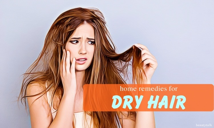 natural home remedies for dry hair