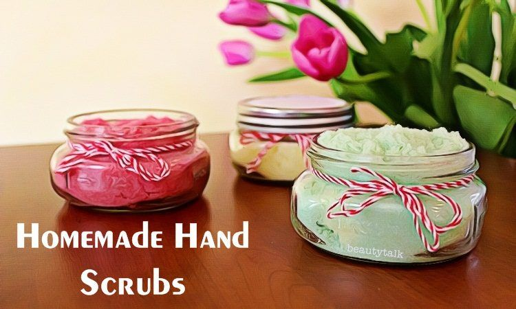 homemade hand scrubs recipes