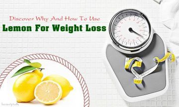 how to use lemon for weight loss