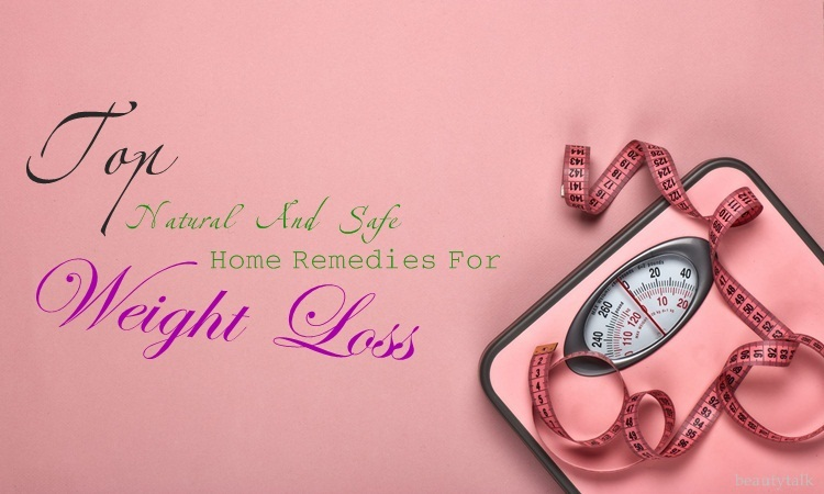 natural home remedies for weight loss